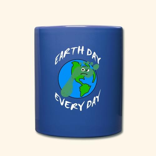 Earth Day Every Day - Tasse einfarbig