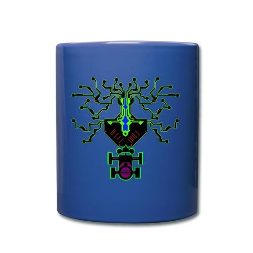 science - Tasse einfarbig