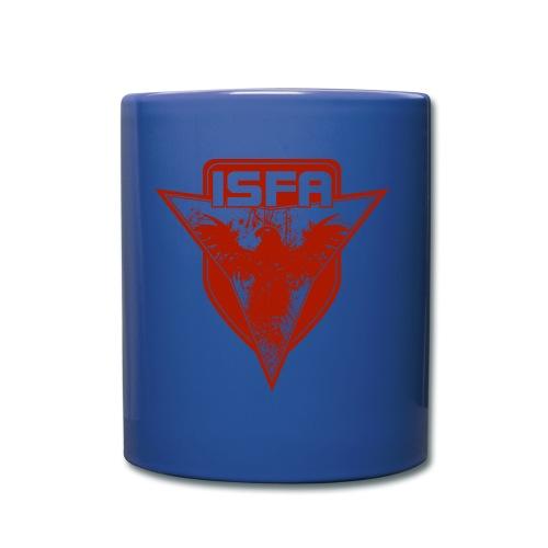 isfa logo 1c rot - Tasse einfarbig