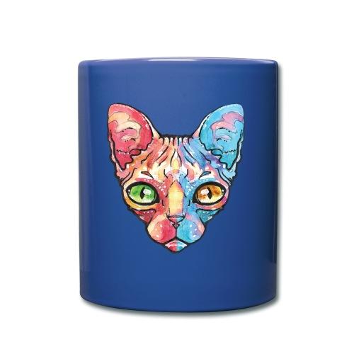 EgyptianCat - Tasse einfarbig