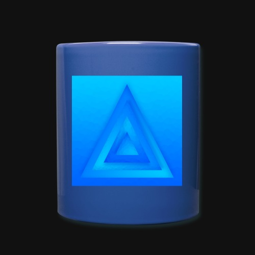 Water Pyramid - Tasse einfarbig
