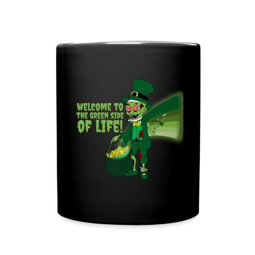 green side - Full Colour Mug