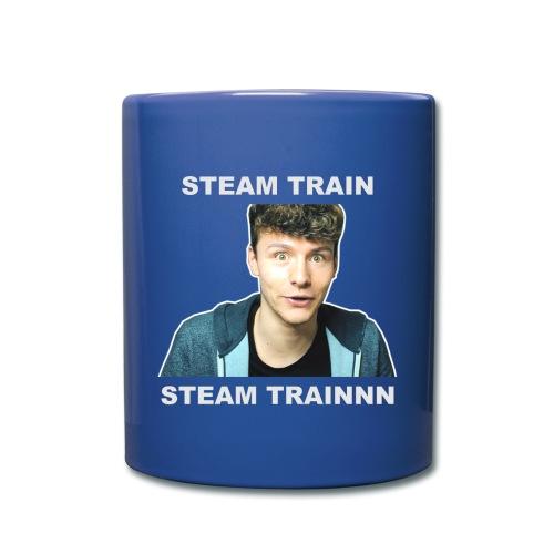 steam train writing - Full Colour Mug
