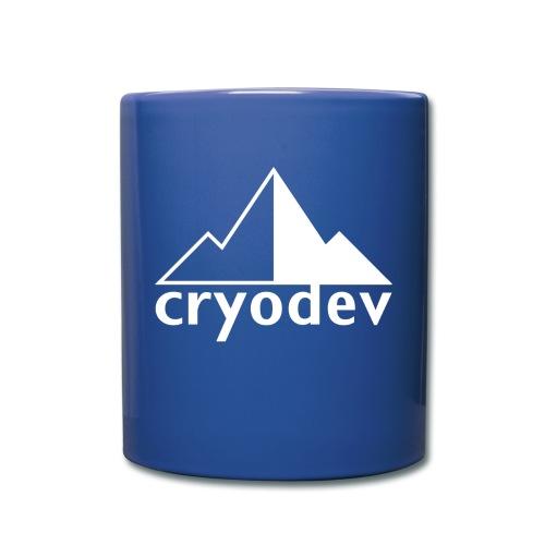 Cryodev AB Logo - Enfärgad mugg