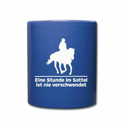 Reiten Pferde Pferdesprüche T-Shirt Pferdemädchen - Tasse einfarbig