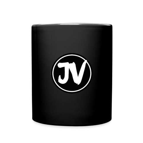 Jonathan Vlog Logo Kreis - Tasse einfarbig