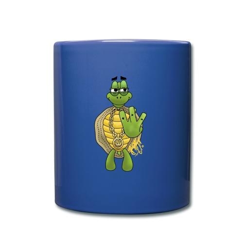 Graffiti Hip-Hop West-Coast Turtle / Schildkröte - Tasse einfarbig