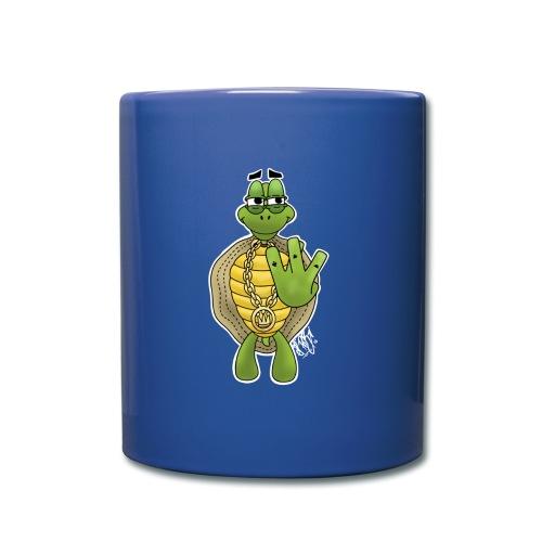 West Coast Schildkröte / Hip-Hop Turtle - Tasse einfarbig