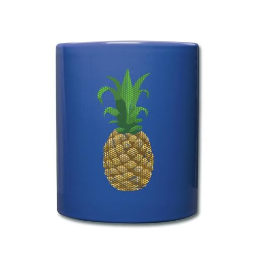 Dots Ananas - Tasse einfarbig