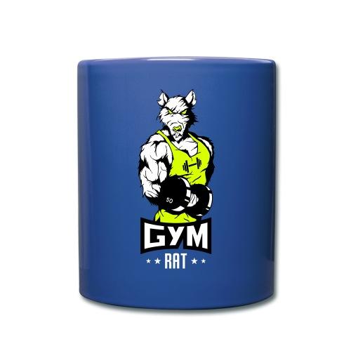 GYM RAT - Fitness Ratte - Tasse einfarbig