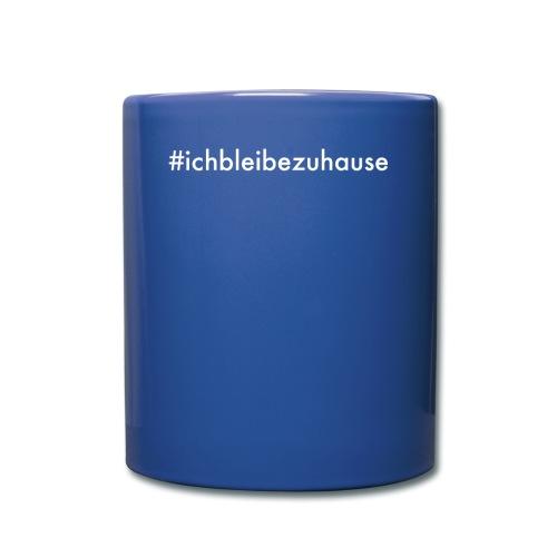 #ichbleibezuhause - Tasse einfarbig