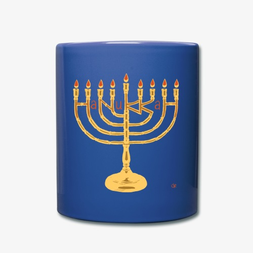 Hanukkah png - Tasse einfarbig