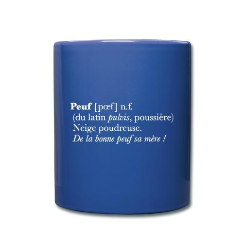 Peuf definition - white - Mug uni
