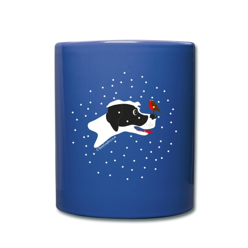 English pointer robin - Full Colour Mug