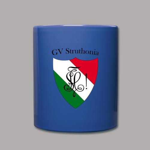 Wappen Struthonia beschriftet - Tasse einfarbig