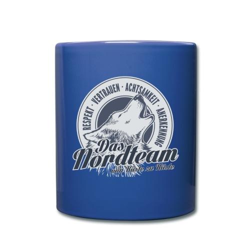 Logo Wolfsrudel - Tasse einfarbig