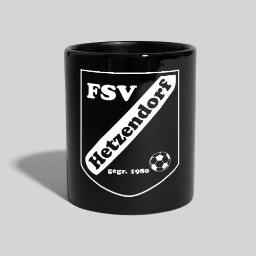 FSV Hetzendorf black - Tasse einfarbig