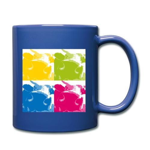 4 Kühe - Tasse einfarbig