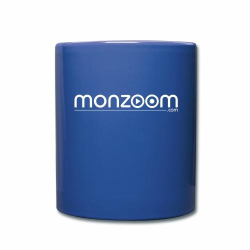 monzoom com logo white - Full Colour Mug