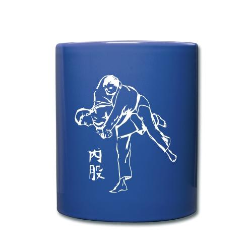 uchimata_logo_calligraphi - Mug uni
