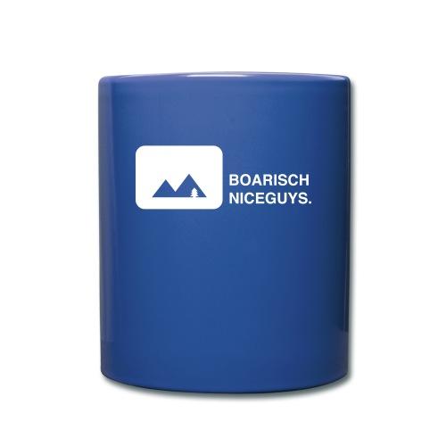 BoarischNiceguys_schwarz - Tasse einfarbig