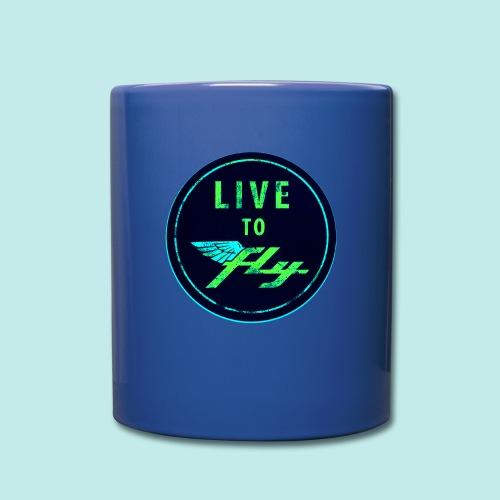 LIVE TO FLY - Mug uni