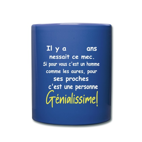 T-SHIRT PERSONNALISABLE/PERSONNALISER/ANNIVERSAIRE - Mug uni