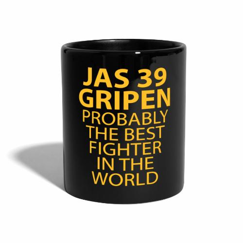 Gripen - Probably the best fighter - Enfärgad mugg