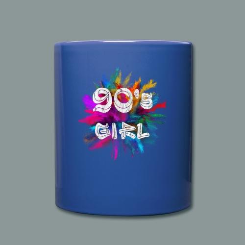 90 s girl - Tasse einfarbig