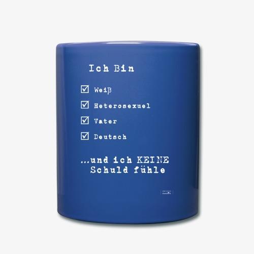 IDENTITEN Mann - Tasse einfarbig