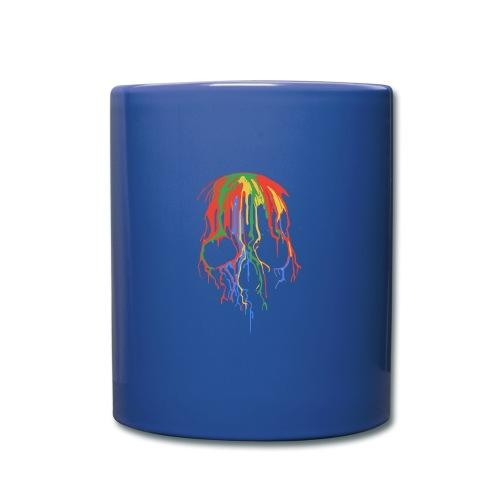 Skull and Colours - Taza de un color