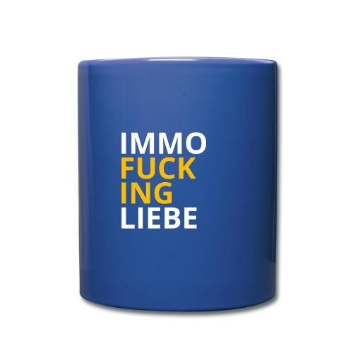 Immo f**cking Liebe! 💛 - Tasse einfarbig
