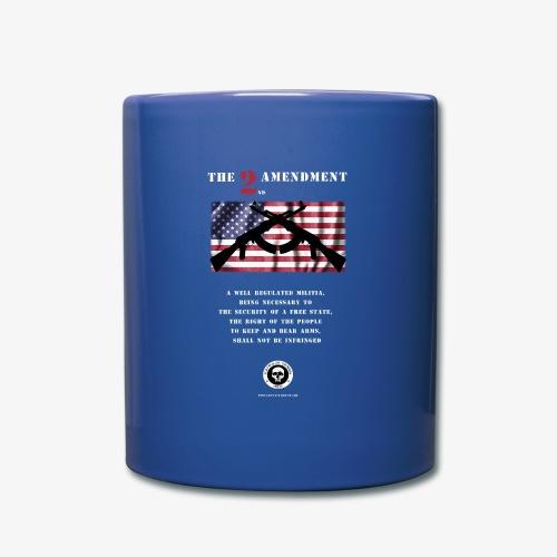 2nd Amendment - Tasse einfarbig