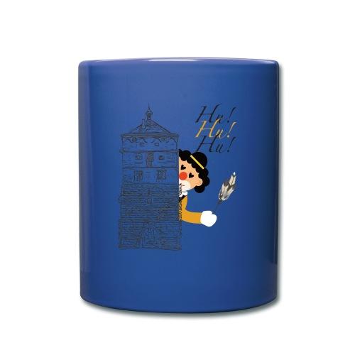 Hu! Hu! Hu! Schwarzgelber Clown am Schwarzen Tor - Tasse einfarbig