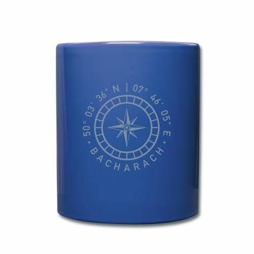 Bacharach – Kompass - Tasse einfarbig