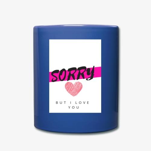 SORRY 1 - Taza de un color