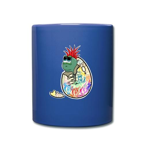 Punk Graffiti Bebe Schildkröte / Baby Dino Turtle - Tasse einfarbig