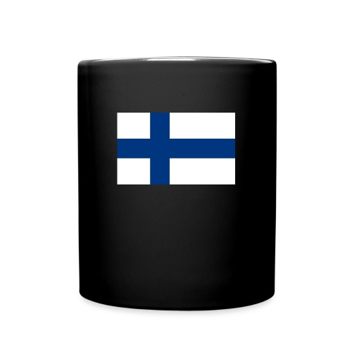 800pxflag of finlandsvg - Yksivärinen muki