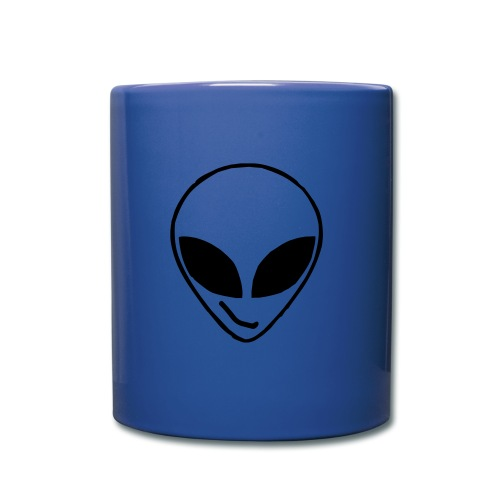 Alien simple Mask - Full Colour Mug