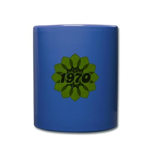 1970 retro flower - Tasse einfarbig