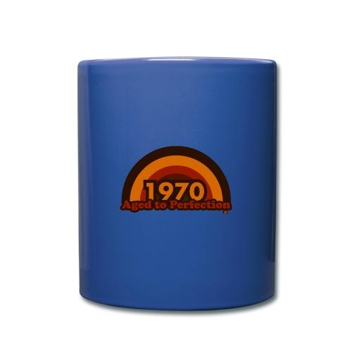 1970 aged to perfection 70tees - Tasse einfarbig