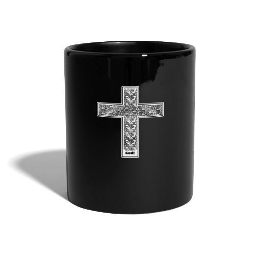 Jesus cross. I'm no longer a slave to fear. - Full Colour Mug