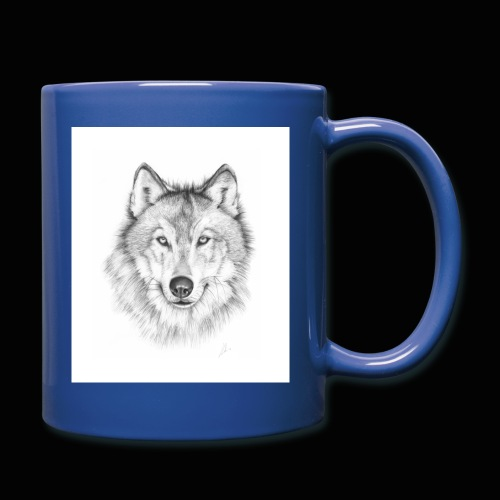Wolf - Ensfarvet krus