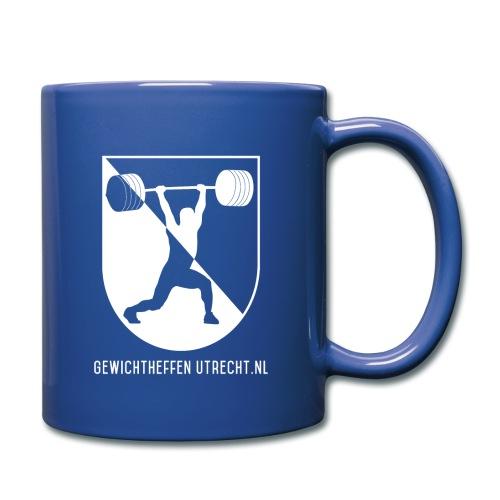 Gewichtheffen Utrecht Logo Trui - Mok uni