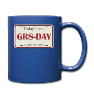 gr8-day - Taza de un color