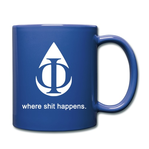AquaPhi Logo (White) - Full Colour Mug