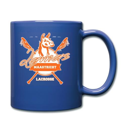 Llamas - Maastricht Lacrosse - Oranje - Mok uni