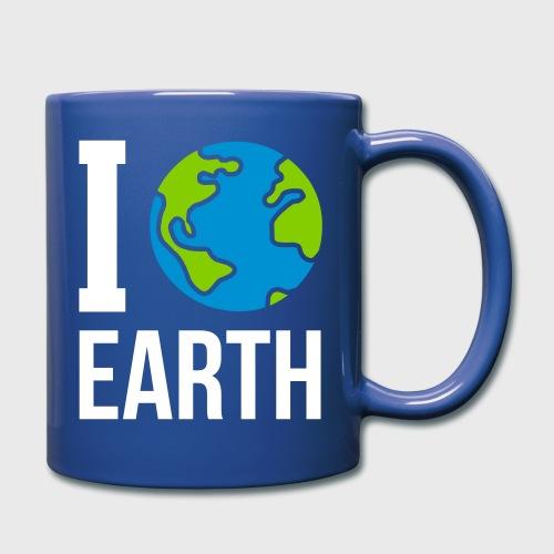 I love Earth - Mug uni