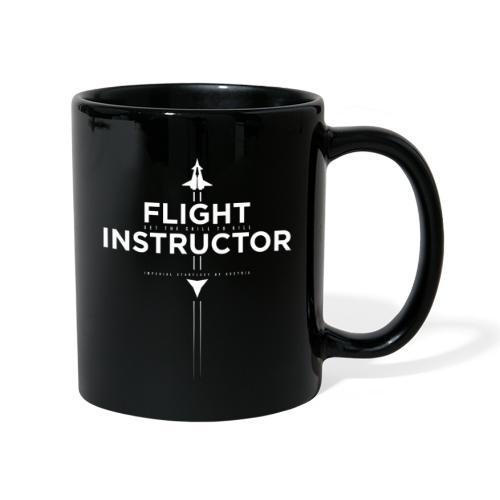 FlightInstructor white - Tasse einfarbig