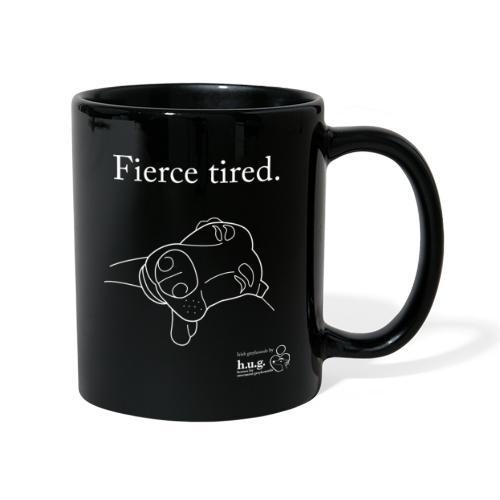 Fierce Tired Greyhound - Full Colour Mug